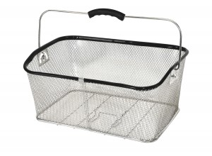 Stainless Rear Basket