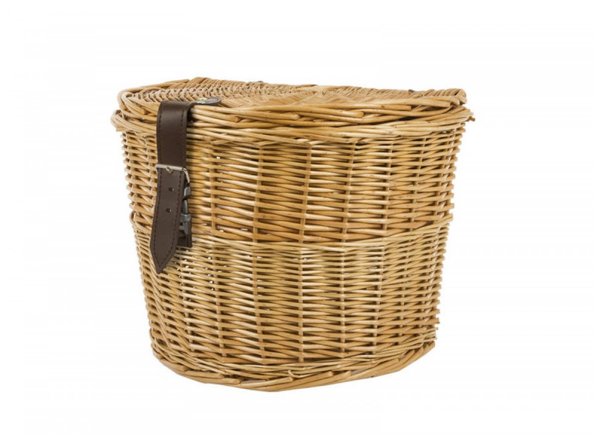 Wicker Side Rear Basket