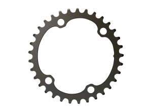 Force 2x12-Speed Inner Chainring - 33t, 107 BCD, (For use with 46t Outer)