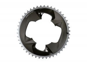 Force 2x12-Speed outer Chainring - 46t, 107 BCD, (For use with 33t inner)